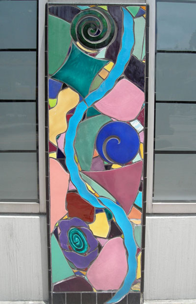 Wall panel from Marlo Bartels' Grand Hope Park Project