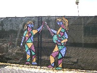 Image of Fence Mural