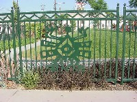 Image of Fence Cut-Out